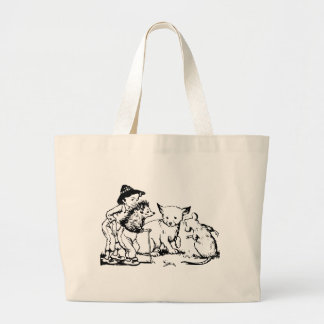 fairy-tales- large tote bag