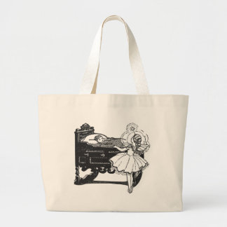 fairy-tales large tote bag