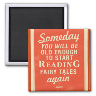 Fairy Tales Square Magnet