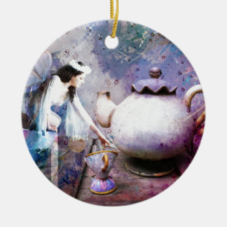 FAIRY TEA CERAMIC ORNAMENT