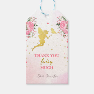 Fairy thank you tags Butterfly Magical Birthday Pack Of Gift Tags
