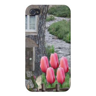 Fairy Tree Cottage iPhone 4 Cases