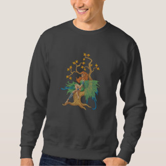 Fairy Tree Embroidered Sweatshirt