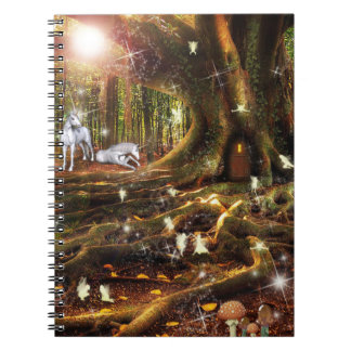 Fairy Treehouse Notebook