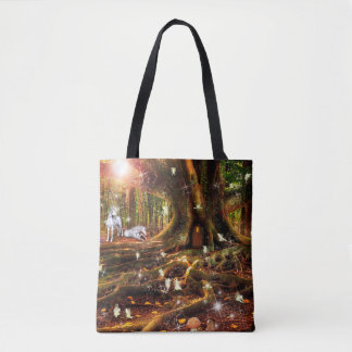 Fairy Treehouse Tote Bag