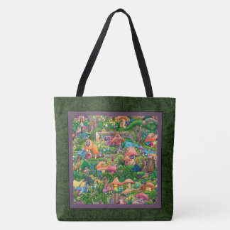 """Fairy Village"" — Tote Bag, Large"