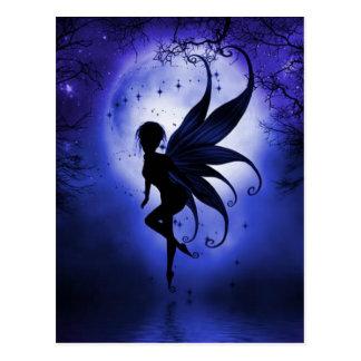 Fairy water dancer postcard