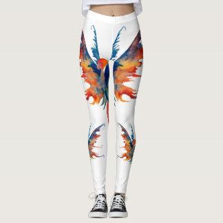 Fairy Watercolor Art Custom Leggings