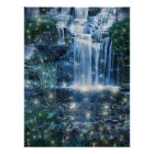 Fairy waterfall poster