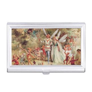 Fairy Wedding Business Card Holder