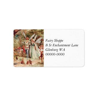 Fairy Wedding Label