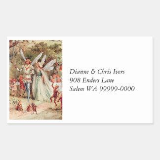 Fairy Wedding Sticker