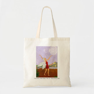 """""""Fairy Wishes"""" Canvas Tote"""