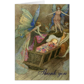 Fairy Wishes Thank you Card