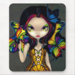 """""""Fairy with a Butterfly Mask"""" Mousepad"""