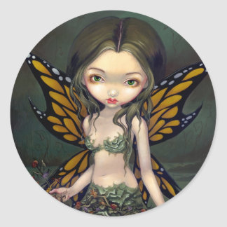 """""""Fairy with Dried Flowers"""" Sticker"""
