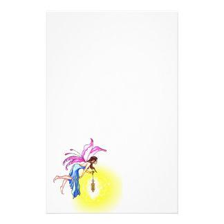 Fairy with Lantern Customized Stationery