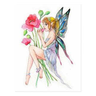 Fairy with Ocarina Postcard