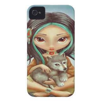 Fairy Wolf iPhone 4 Case-Mate Case