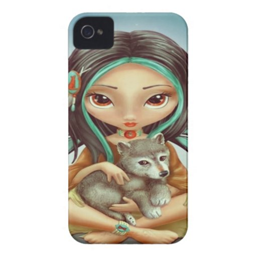 Fairy Wolf Blackberry Bold Cover