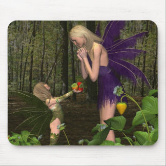 Fairy Woodland Mother's Day Gift Mousepad