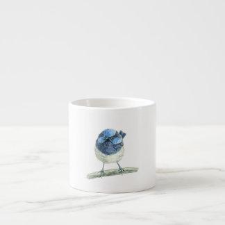Fairy wren espresso cup