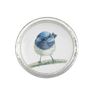 Fairy wren photo ring