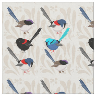 Fairy Wrens Fabric