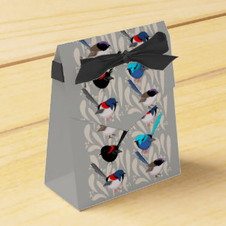 Fairy Wrens Favor Box