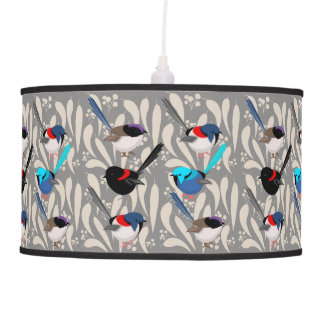 Fairy Wrens Pendant Lamp