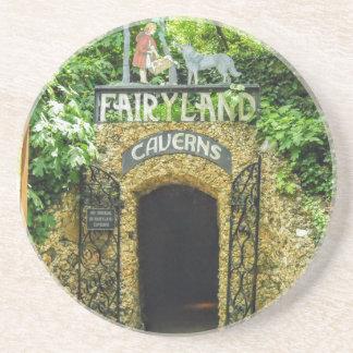 Fairyland Caverns Nature Photography Drink Coaster
