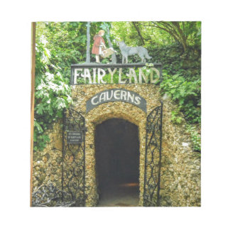 Fairyland Caverns Nature Photography Notepad