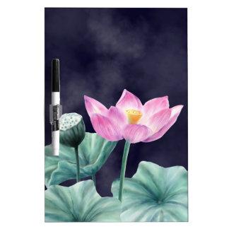 FAIRYLAND LOTUS FLOWER DRY ERASE BOARD