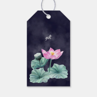 FAIRYLAND LOTUS FLOWER GIFT TAGS