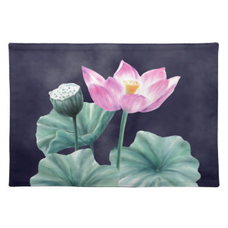 FAIRYLAND LOTUS FLOWER PLATEMATS PLACEMAT