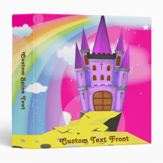 Fairytail Castle 3 Ring Binder