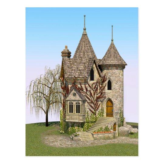 Fairytale Castle Postcard