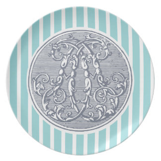 Fairytale Cypher- Initial 'A' Party Plates