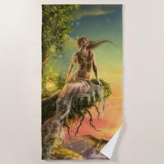 Fairytale Dawn Beach Towel