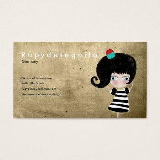 Fairytale dessert doll hope dream scary love cards