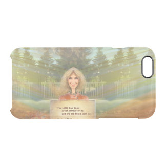 Fairytale Fall Psalm 126 Filled With Joy Clear iPhone 6/6S Case