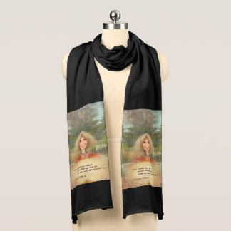 Fairytale Fall Psalm 126 Filled With Joy Scarf