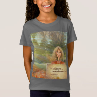 Fairytale Fall Psalm 126 Filled With Joy T-Shirt