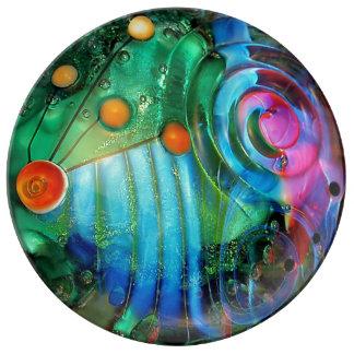 Fairytale, magic Design, photography, colorful Porcelain Plates