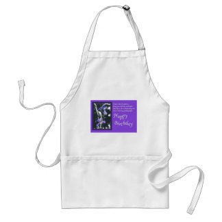 Fairytale of Rainbows Birthday Wishes Standard Apron