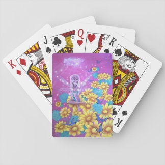 Fairytale pink fairy game cards
