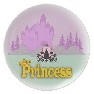 Fairytale Princess Dinner Plates