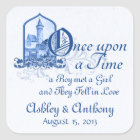 Fairytale Royal Blue Castle Once Upon Wedding Seal