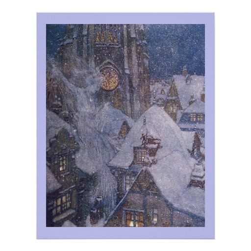 Fairytale Snow Queen by Edmund Dulac Print