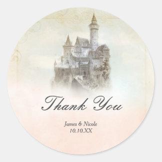 Fairytale Storybook Page Castle Princess Sticker